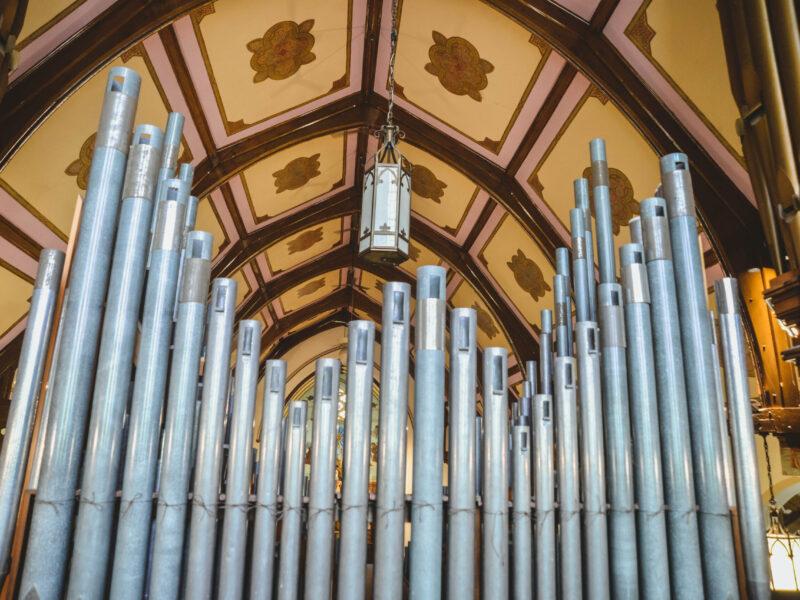 pipe organ ranks