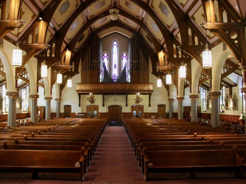Nave of St. Teresa Church