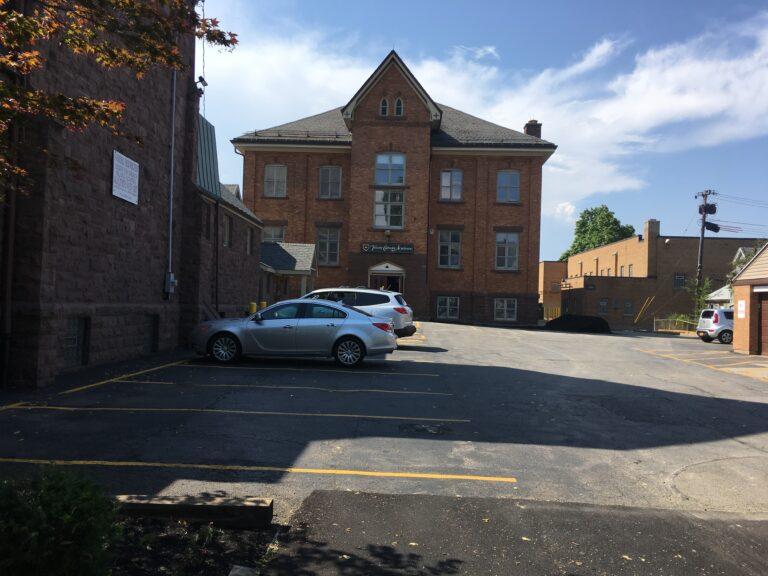 Hayden St. Parking Lot