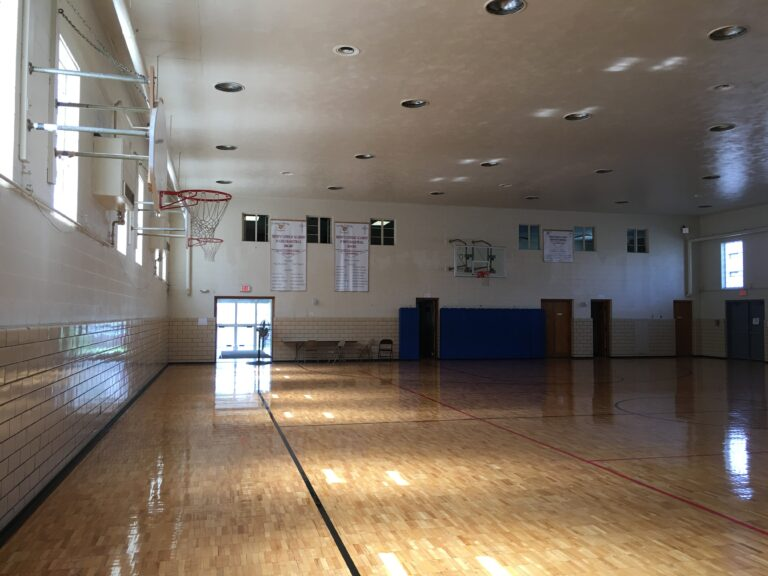gym at parish center