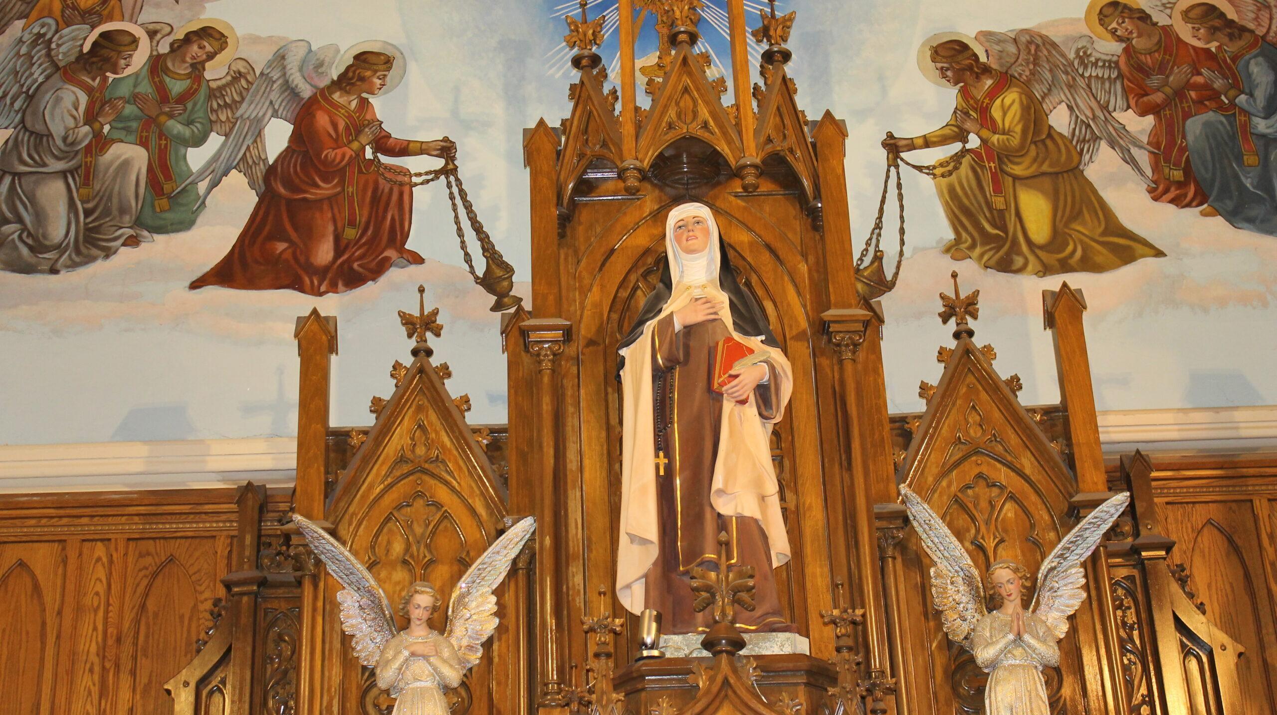 St. Teresa Altar Piece